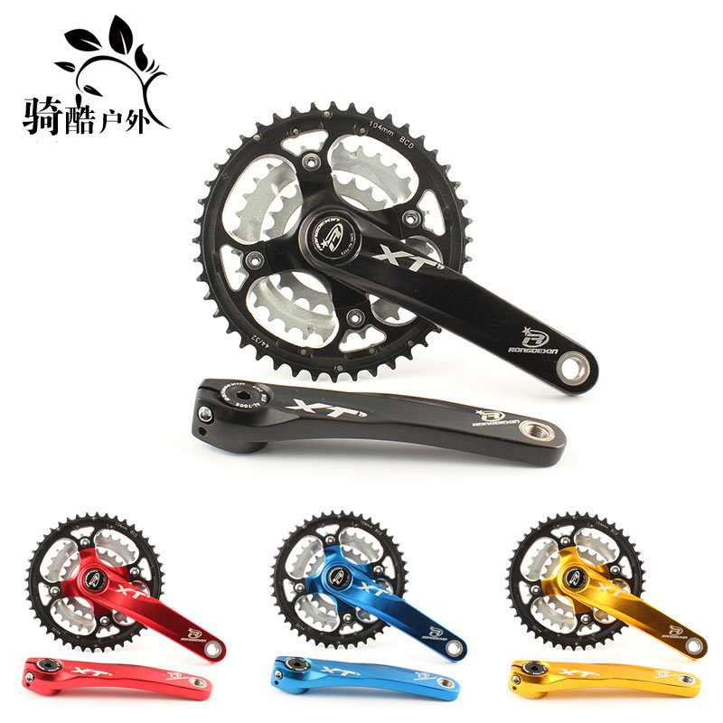 RONGDEXIN XT 9-speed hollow sprocket wheel 27-speed mountain bike hollow sprocket wheel Sprocket wheel Bicycle gear