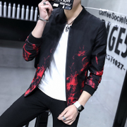 Men's jacket spring and autumn coat 2017 new wave of casual youth big code student baseball uniforms