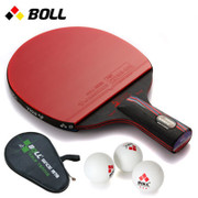 Table tennis beginners BOLL black carbon nano King penhold grip table tennis racket genuine single shot reverse