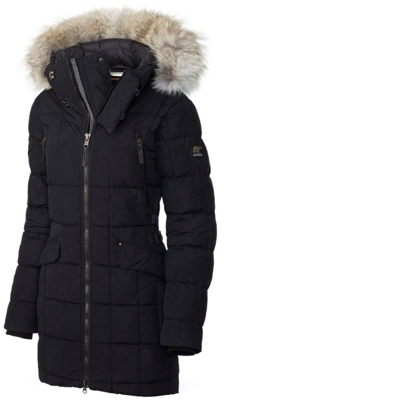 Sorel / ice bear winter new warm long goose down hooded down jacket female American direct mail 1649721