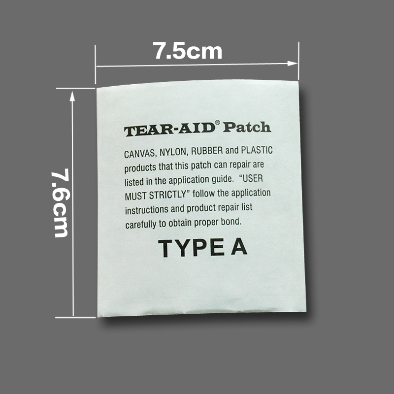 Tear-Aid Affiliated Down Garment GTX Stormwear Windshield Sleeping Bag Tent Transparent Repair Subsidy