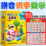 Early Childhood Chinese Pinyin Elementary School Chinese Mathematics Mathematics DVD CD - ROM Number of Children 's Literacy DVDs