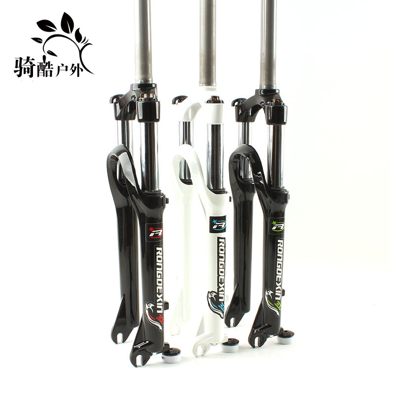 Front fork of oil spring of 24 inch mountainous bike lock front fork of 24 inch mountainous bike