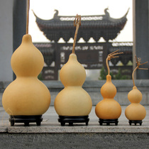 Natural large gourd ornaments playing hand twist play small gourd pendant feng shui home hand put piece living room open light
