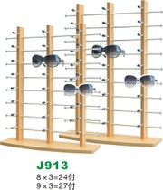 Wooden glasses display stand sunglasses sunglasses shelf glasses display shelf props stand