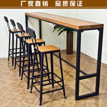 From the best shopping agent yoycart wrought iron solid wood bar fast food restaurant coffee shop tables and chairs combination of american watchthetrailerfo