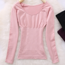 Skinny large round collar body to keep warm thin plastic body clothes