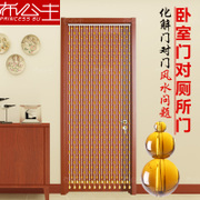 Gourd bead curtain crystal door on the bedroom bathroom kitchen window living room balcony Feng Shui partition curtain