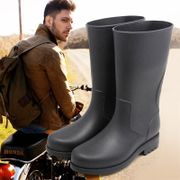 Dr the new spring and summer high tube anti-skid boots warm in the outdoor waterproof shoes boots shoes fishing barrel adult male