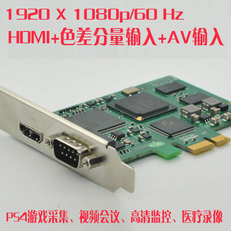 HDMI1080P/60P High Definition Video Acquisition Card DVI Card for Endoscopic Ultrasound Medical Images