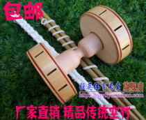 Beijing brand old-age fitness equipment single-headed double-headed empty bamboo pure handmade bamboo with sound empty bamboo with shaker