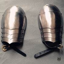 (Gothic shoulder armor) Knights Armor Plate Armor Helmet Viking Hospital Temple of the Middle Ages