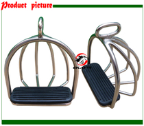 Stainless steel safety pedal welded fence protection rider novice horse pedal female rider Stirrup