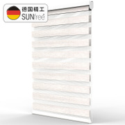 Sunfree custom shading soft curtain shutter blinds S-RSJ005 bathroom toilet