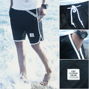 Men's Summer Shorts 5 head movement five pants seven summer beach pants loose breeches big pants tide