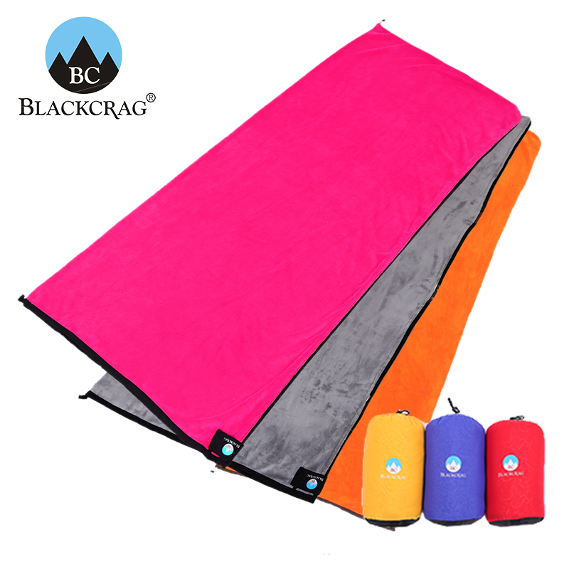 BLACKCRAG/Black Rock Envelope Travel Cashmere Sleeping Bag Imported Fabric Can Be Used as Sleeping Bag Inner Liner