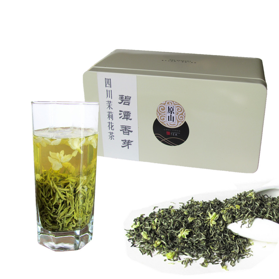 Musen Snow, Snow, Shu Ming, Ya'an Mengdingshan New Jasmine Tea in Bulk for 140 yuan 250 grams in 2019