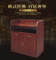 Hotel restaurant solid wood side cabinet modern simple restaurant cabinet locker storage cabinet dining cabinets Fashion wine Cabinet Tea water cabinet