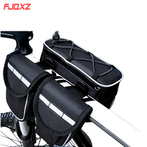 Cycling bag bicycle mountain bicycle charter front pack saddle bag on the bag riding equipment waterproof cover