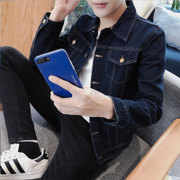 In the spring of 2017 Korean men's denim jacket thin spring jacket casual clothes and fashion students