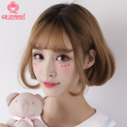 Seven street queen wig, female hair, air bangs, Bobo inside buckle natural, realistic and fluffy, South Korea Qi Bang
