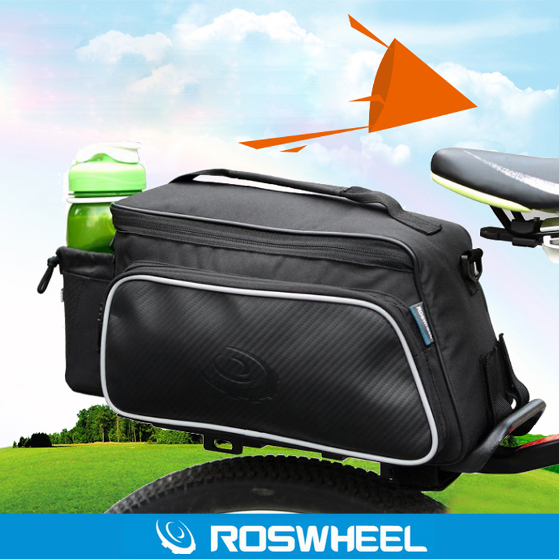 ROSWHEEL Le Hyun bicycle rear seat bag mountain bike bag shelf bag riding equipment accessories