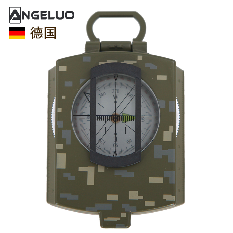 [The goods stop production and no stock]German Unglo Geometry Compass Instrument Outdoor Multifunction Army Compass compass compass