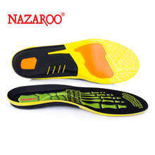 PU elastic shock absorption sports insole, air permeability, sweat and odour, arch support, male and female basketball badminton, military training and running.