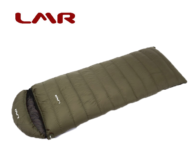LMR Outdoor Down Sleeping Bag Adult Ultra-light Envelope can spell 1000 grams of autumn and winter climbing comfort - 10 degrees
