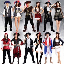 Cosplay Caribbean Pirate Costume Pirate Costume Adult Captain Jack Costume