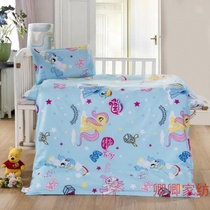 Kindergarten quilt 36 pieces of pure cotton core quilt cover spring and autumn children cartoon bedding nap Ma Baoli