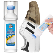 Small white shoe artifact brush a cleaning agent white shoes to clean the magic shoe polish to yellow whitening special decontamination