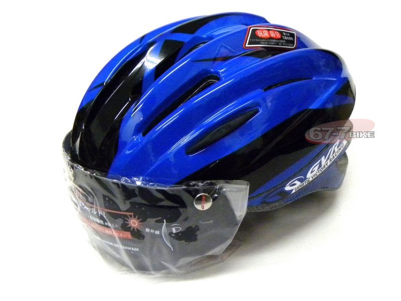 Taiwan [GVR] Magnetically Absorbed Lens G203V Cycling Helmet Phantom Series Blue