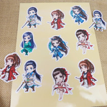 Die-cutting special sticker to map custom self-adhesive star anime with sticker customization