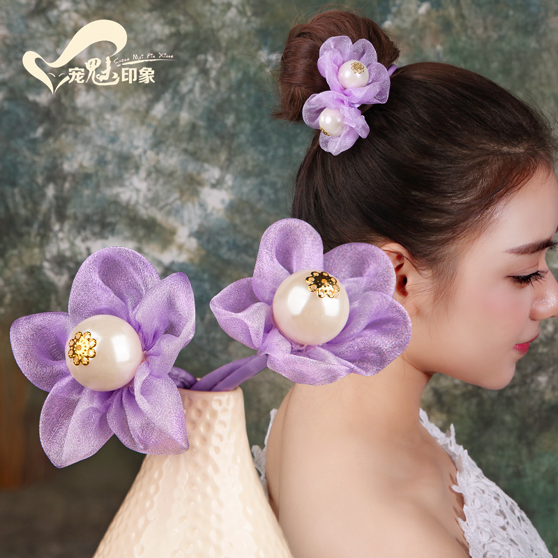 Korean Sweet Flower Hair Ornament