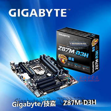 Gigabyte / Gigabyte Z87M-D3H motherboard Z87 chip 1150 pin support four generation Core stock