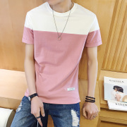 Summer men's men's T-shirt short sleeve T-shirt Korean style students t-shirt t-shirt