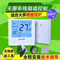Onuode wall-hung furnace thermostat wired wireless WIFI thermostat mobile APP remote control