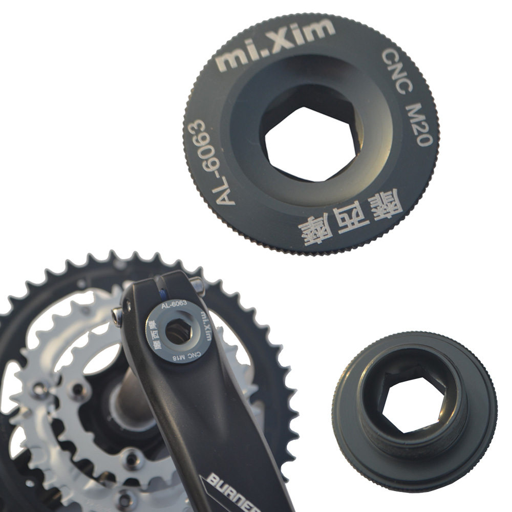 9.99 self-mountain mountain bike FSA Haomeng Shimano one tooth plate crank cover BB shaft crank screw