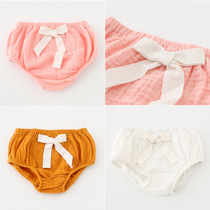 Exclusive baby bread and cotton pants briefs girls bow PP pants hot jeans wear