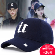 Hat man Korean fashion trendsetter summer baseball cap female leisure all-match sun shading cap peaked cap