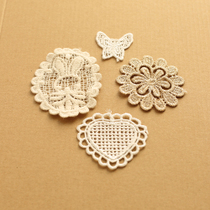 Water soluble embroidery cotton DIY Zhihua corsage Buiter accessories lace applique ornaments accessories