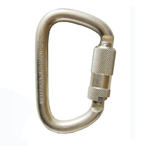 Special D-type Alloy Steel Wire Button Door Self-locking Door Safety Hook for Very Large Tensile Drawing Anchorage Point