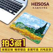 Hsosa creative cartoon mouse pad lovely computer game medium notebook office custom thickening pad