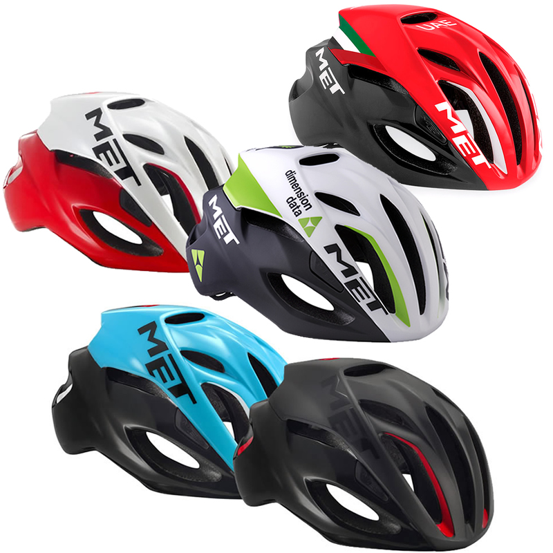 MET Rivale Pneumatic Road Cycling Riding Helmet