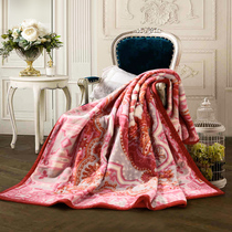 Phoenix blankets Shanghai old pure wool fluff winter blanket blanket warm thickened double bed