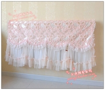Full 68 yuan Bowen fabric lace heating cover dust cover new vintage cover towel radiator cover out