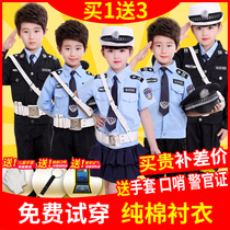 Children uniforms uniforms traffic police uniforms uniforms uniforms special forces clothing suits military clothing small police hat