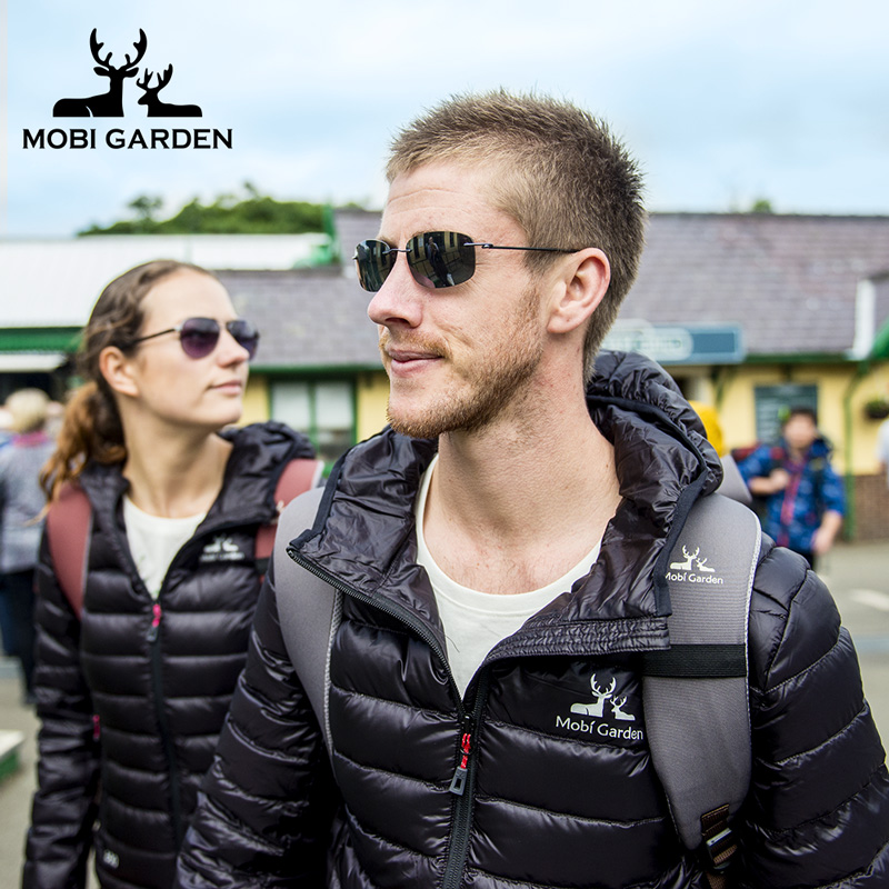 [Stunning Clouds] Mobigard Outdoor Clothing Autumn/Winter New Warm White Duck Down Jacket Couples