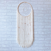 Ins Nordic hand-knitted dyed tapestry antique jewelry bedroom decorative tapestry custom tapestry